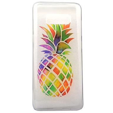 Maska Pentru Samsung Galaxy S8 Plus S8 IMD Transparent Model Carcasă Spate Fruct Moale TPU pentru S8 S8 Plus