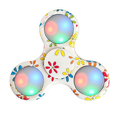 Fidget spinners Hand Spinner Speeltjes Ring Spinner LED Spinner ABS EDCvoor Killing Time Focus Toy Relieves ADD, ADHD, Angst, Autisme