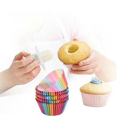 Zestawy do Pieczenia na ciasto na chleb Dla Cupcake Dla Sandwich Plastik Papier DIY Wysoka jakość Nieprzylepny Przyjazne dla środowiska
