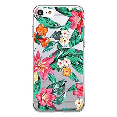 tok Για Apple Εξαιρετικά λεπτή Με σχέδια Πίσω Κάλυμμα Λουλούδι Μαλακή TPU για iPhone 7 Plus iPhone 7 iPhone 6s Plus iPhone 6 Plus iPhone