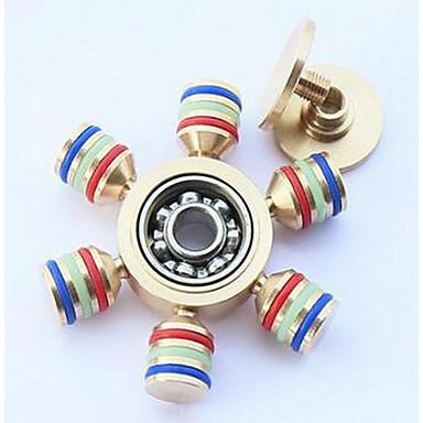 Fidget spinners Hand Spinner Speeltjes Zes Spinner Stress en angst Relief Kantoor Bureau Speelgoed voor Killing Time Focus Toy Relieves