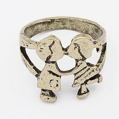 Dames Bandringen Ring Sieraden Basisontwerp Uniek ontwerp Logostijl Opvallende sieraden Afrika Eenvoudige Stijl Duurzaam USA Modieus