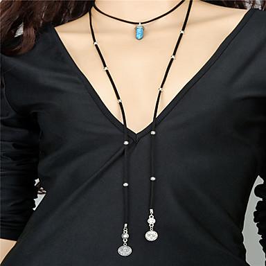 Kadın's Diğerleri Kişiselleştirilmiş Sallantılı Stil Kolye Püskül Moda Ayarlanabilir Euramerican Gerdanlıklar Uçlu Kolyeler Mücevher