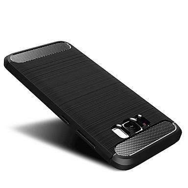 Hülle Für Samsung Galaxy S8 Plus S8 Stoßresistent Rückseitenabdeckung Linien / Wellen Weich TPU für S8 S8 Plus