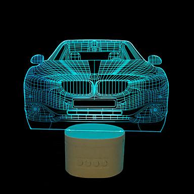 Yövalo LED-pöytävalaisimet-2W-USB Himmennettävissä Vaihtuva väri horn - Himmennettävissä Vaihtuva väri horn