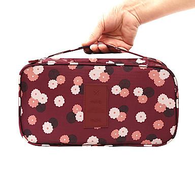 حقيبة كروس منظم أغراض السفر مقاوم للماء المحمول سعة كبيرة متعددة الوظائف تخزين السفر إلى ملابس الصدرية نايلون / السفر
