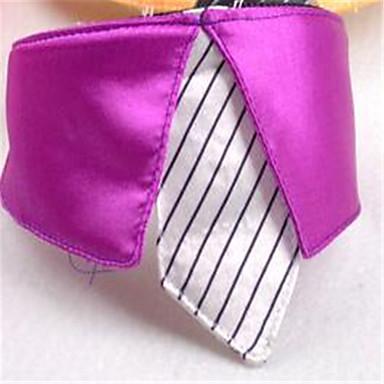 Hund Krawatte/Fliege Hundekleidung Lässig/Alltäglich Solide Purpur Gelb Fuchsia Rosa Kostüm Für Haustiere