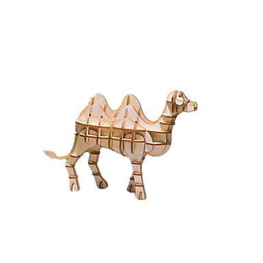 قطع تركيب3D النماذج الخشبية مجموعات البناء حيوان لهو خشب كلاسيكي