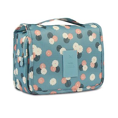 Organizer podróżny do walizki Kosmetyczka podróżna Kosmetyczka Wodoodporny Przenośny Składany Pojemniki podróżne na Odzież Nylon / Kwiaty