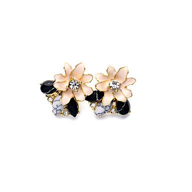 Damskie Kolczyki na sztyft Unikalny Modny Osobiste biżuteria kostiumowa Flower Shape Biżuteria Na Ślub Impreza