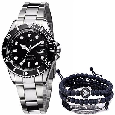 Heren Polshorloge Armbandhorloge Unieke creatieve horloge Vrijetijdshorloge Sporthorloge Militair horloge Modieus horloge Chinees Kwarts