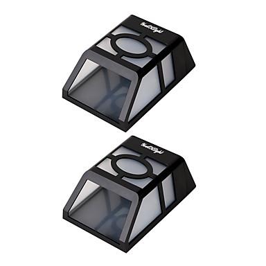 Youoklight 2pcs 0.5w 1.2v 0.12a putere mare 2 * led-uri calde alb / rece albă lumină solară lantern lumina lampă de gard solar soare
