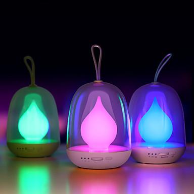 Lampă de noapte flacără portabile bombillas usb reîncărcabile condus lumini colorate pentru dormitor pentru bebeluși somn de iluminat