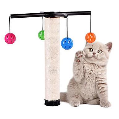 لعبة للقطة ألعاب الحيوانات الأليفة متفاعل لوح التقطيع مضاعف بلاستيك السيزال للحيوانات الأليفة