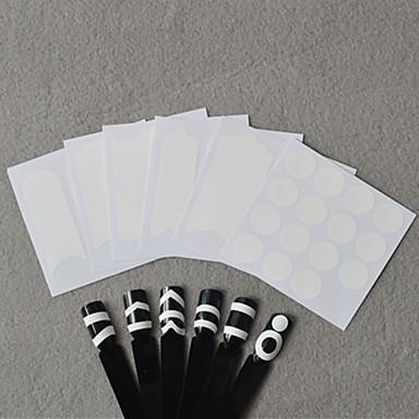 6 Nagelkunst sticker Diecut manicure stencil 3D Nagelstickers make-up Cosmetische Nagelkunst ontwerp
