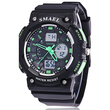 Herrn Sportuhr Militäruhr Smart Uhr Modeuhr Armbanduhr digital LED Kalender Fitness Tracker Stopuhr Nachts leuchtend Silikon Band Cool