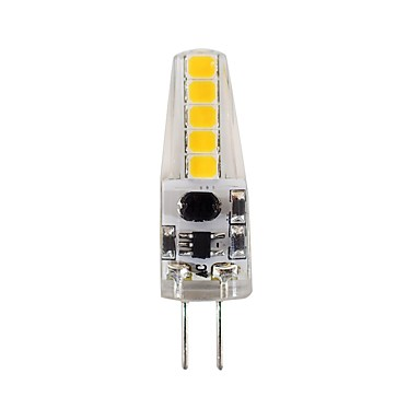 2W G4 Becuri LED Bi-pin T 10 LED-uri SMD 2835 Decorativ Alb Natural 180-200lm 4000-4500