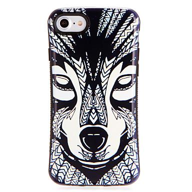 Voor apple iphone7 7plus case cover patroon achterkant behuizing cartoon soft tpu 6s plus 6 plus 6s 6