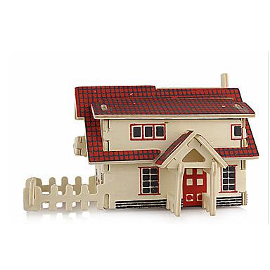 Puzzle 3D Puzzle Modele de Lemn Μοντέλα και κιτ δόμησης Clădire celebru Arhitectură 3D Simulare Reparații Lemn Clasic Unisex Cadou