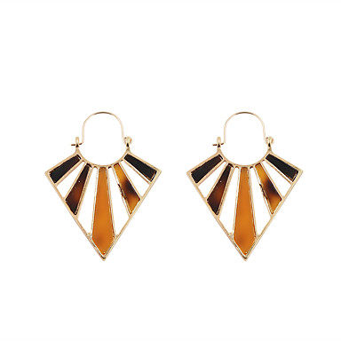 Dames Ring oorbellen Sieraden Meetkundig Modieus Bohemia Style PERSGepersonaliseerd Euramerican Acryl Legering Geometrische vorm Sieraden
