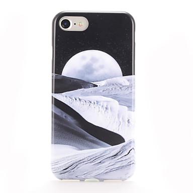 Maska Pentru Apple iPhone 7 Plus iPhone 7 Model Capac Spate Decor Moale TPU pentru iPhone 7 Plus iPhone 7 iPhone 6s Plus iPhone 6s iPhone