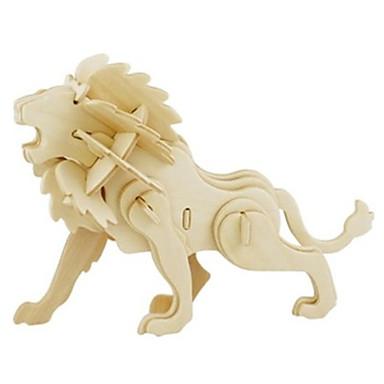 3D - Puzzle Holzmodelle Modellbausätze Löwe Spaß Holz Klassisch