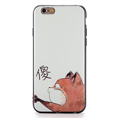 Pentru Carcase Huse Model Carcasă Spate Maska Pisica Moale TPU pentru AppleiPhone 7 Plus iPhone 7 iPhone 6s Plus iPhone 6 Plus iPhone 6s