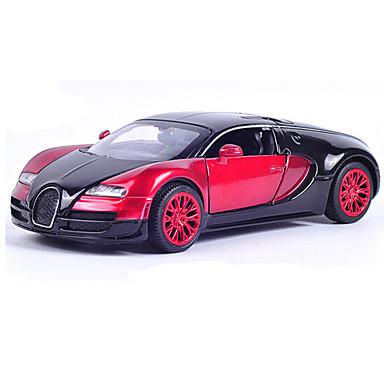 Modelauto Terugtrekvoertuigen Racewagen Speeltjes Muziek en licht Speeltjes Metaal Stuks Niet gespecificeerd Geschenk