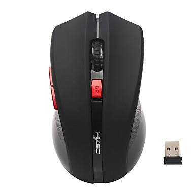 Mouse sem fio usb 6 botões 2.4g mouse óptico ajustável 2400dpi mouse sem fio mouse gamer mouse pc ratos para laptop computador