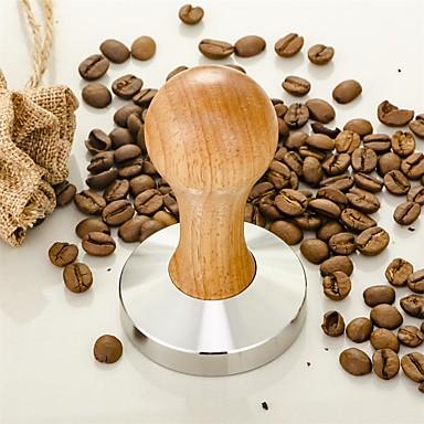 Stal nierdzewna Drewniany Młynek do kawy Ręczny , 10.0*6.3*6.2