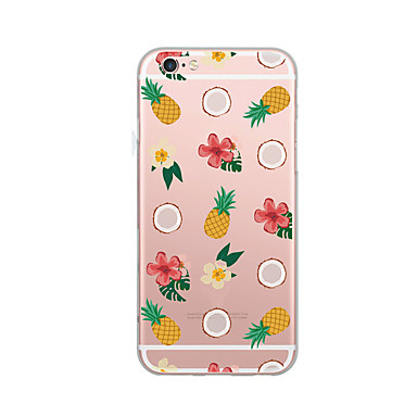 Kılıf Na Apple Ultra cienkie Wzór Etui na tył Owoc Miękkie TPU na iPhone 7 Plus iPhone 7 iPhone 6s Plus iPhone 6 Plus iPhone 6s iPhone 6