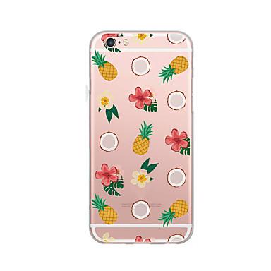 tok Για Apple Εξαιρετικά λεπτή Με σχέδια Πίσω Κάλυμμα Φρούτα Μαλακή TPU για iPhone 7 Plus iPhone 7 iPhone 6s Plus iPhone 6 Plus iPhone 6s