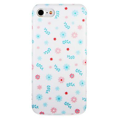 Voor apple iphone 7 7plus case cover patroon achterkant hoesje bloem zachte tpu 6s plus 6 plus 6s 6