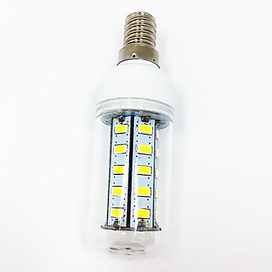 2.5W E14 E27 Żarówki LED kukurydza T 36 Diody LED SMD 5730 Dekoracyjna Ciepła biel Biały 260-300lm 3000-3500/6000-6500K AC110 AC220V