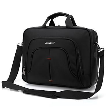 15,6 inch laptop multifunctionele handtas schoudertas notebook tas voor Dell / HP / Lenovo / Sony / acer / oppervlak etc
