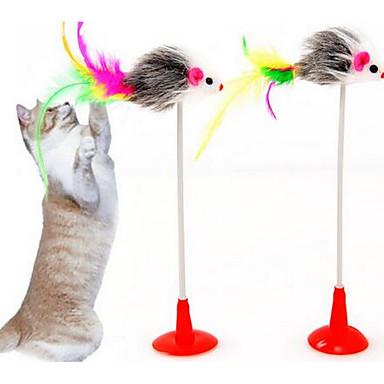 Γάτα Παιχνίδι για γάτες Παιχνίδια για κατοικίδια Διαδραστικό Πειραχτήρια Ανθεκτικό Ύφασμα Για κατοικίδια