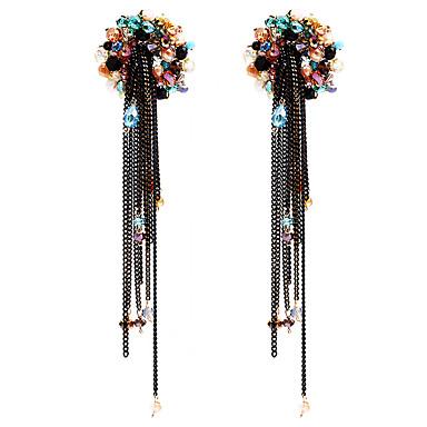 Damskie Kolczyki Ustaw Kryształ euroamerykańskiej minimalistyczny styl Osobiste Stop Biżuteria Na Ślub Impreza