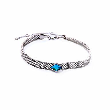 للمرأة قلادات ضيقة Geometric Shape كروم مخصص ترف مجوهرات من أجل زفاف تهاني