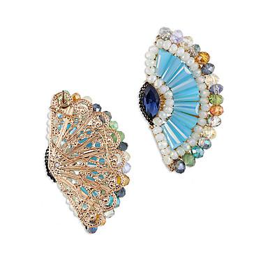 Kolczyki na sztyft Kryształ Osobiste euroamerykańskiej minimalistyczny styl Stop Niebieski Biżuteria Na Ślub Impreza Urodziny 1 para