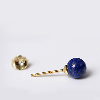 Niittikorvakorut Korut Muoti Personoitu Euramerican minimalistisesta Sterling-hopea Kulta Hopea Korut Varten Häät Party Syntymäpäivä1