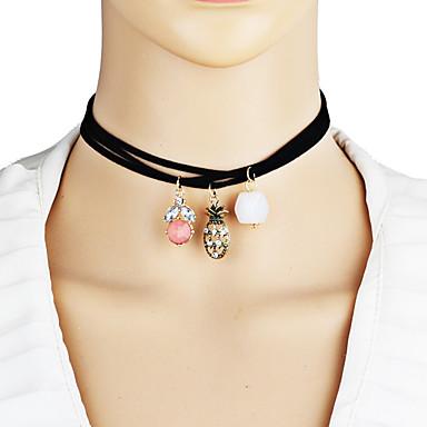 Dames Uniek ontwerp Hangende stijl leuke Style Euramerican Opvallende sieraden Modieus Punk Hangertjes ketting Stof Legering Hangertjes