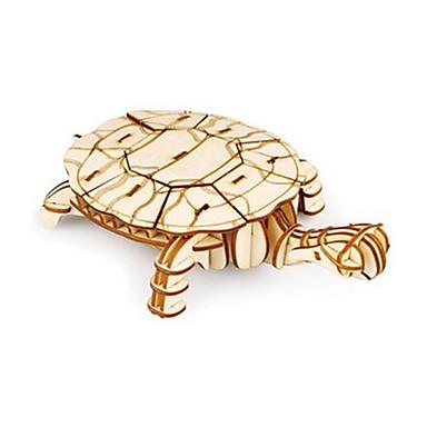 قطع تركيب3D حيوان لهو خشب كلاسيكي