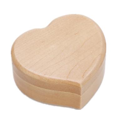 Spieluhr Spielzeuge Herzförmig Herz Holz Stücke Unisex Geschenk