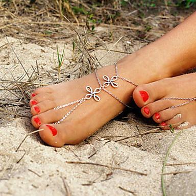 Dames Enkelring /Armbanden Legering Uniek ontwerp Modieus Eenvoudige Stijl Europees Kostuum juwelen Sieraden Sieraden Voor Dagelijks
