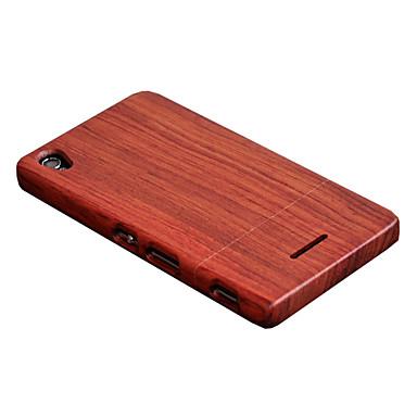 غطاء من أجل Sony Xperia T3 Sony مع حامل غطاء خلفي خشب قاسي خشبي إلى Sony Xperia T3 Sony
