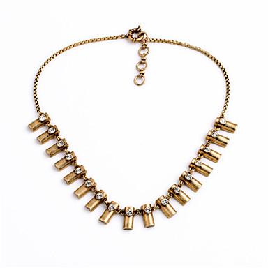 Pentru femei Toroane Coliere Geometric Shape Design Unic Cute Stil Auriu Bijuterii Pentru Zilnic 1 buc