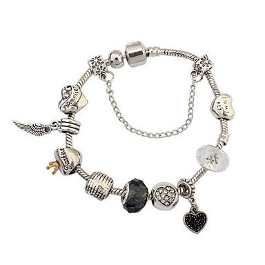 economico Bracciali-Per donna Bracciali a catena e maglie Di tendenza Gemme Gioielli braccialetto Argento Per Feste Occasioni speciali Regalo