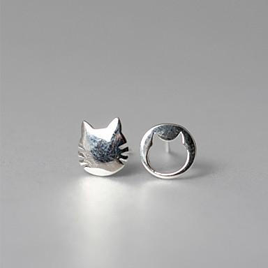 Κουμπωτά Σκουλαρίκια Κοσμήματα Εξατομικευόμενο Euramerican μινιμαλιστικό στυλ Ασήμι Στερλίνας Ασημί Κοσμήματα Για Γάμου Πάρτι Γενέθλια1