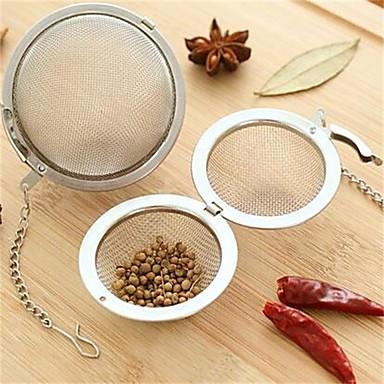 Paslanmaz Çelik Çay Süzgeci Manual , 9.5*4.5*3.0