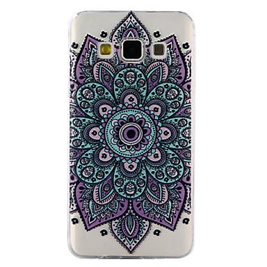 غطاء من أجل Samsung Galaxy A5(2017) A3(2017) شفاف مطرز نموذج غطاء خلفي ماندالا نمط ناعم TPU إلى A3 (2017) A5 (2017) A5 A3